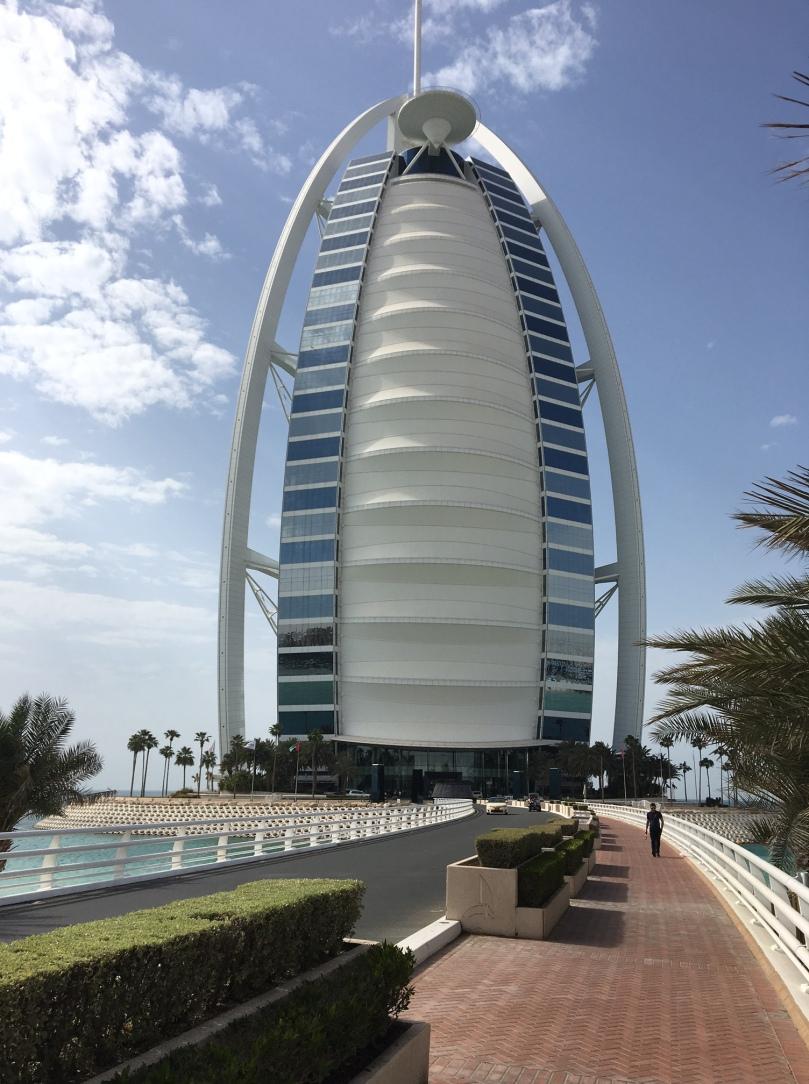 Burj Al Arab Outside
